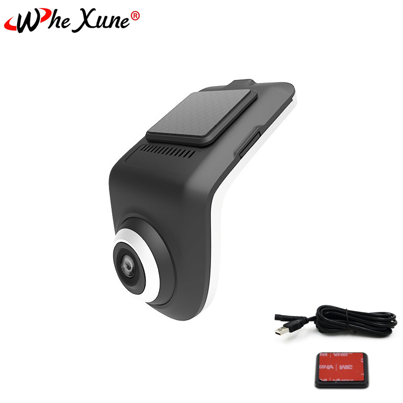 WHEXUNE Original U3 Mini Car <font><b>DVR</b></font> Camera Full HD 1080P ADAS Auto Digital Video Recorder Dash <font><b>Cam</b></font> for Android Multimedia player image