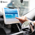 Baseus Adjustable ABS Car tablet holder stand 360 degree rotate Dashboard Mount bracket for 4-12 inch for iPad mini iPhone 6