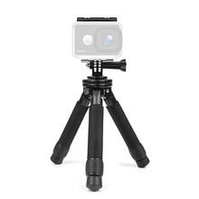 Новый Регулируемая Мини Портативный стабильный Настольная рабочего Штатив для GoPro Canon Nikon Sony действие Камера с телефона Клип адаптер