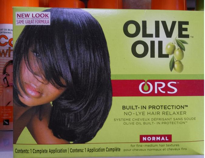 organic root olive oil hair relaxer normal