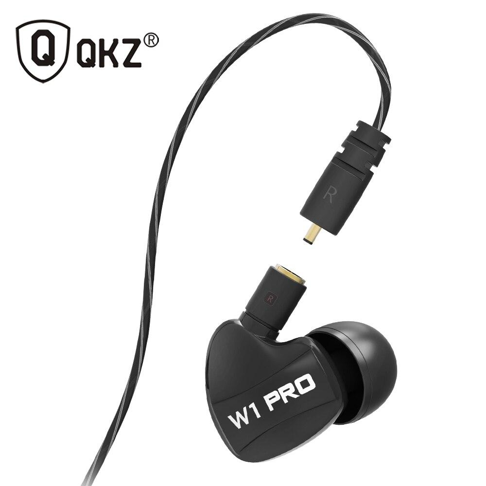 QKZ W1 Headphones fone de ouvido For DJ MP3 go pro Headset dre dre Headphone auriculares audifonos