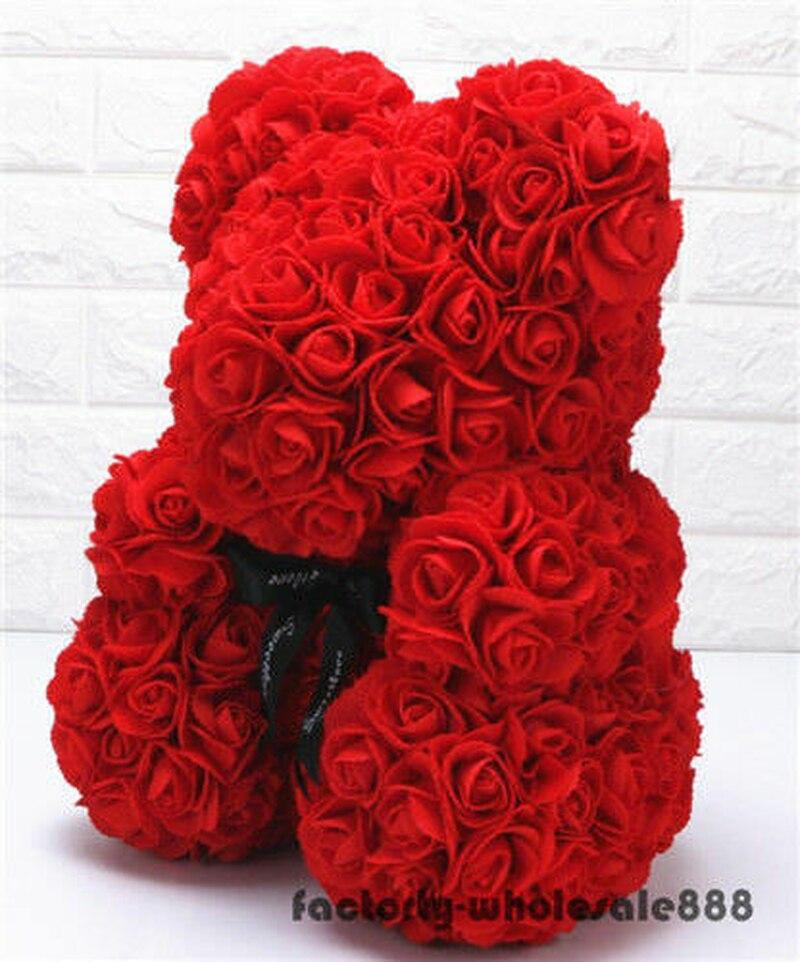 45cm Riesen Große Riesige Große Teddybär Rose Blume Bär Spielzeug Valentine Weihnachten Geschenk EIN Geburtstag Geschenk - 2