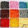14 Cores Mosaicos Inlay Tijolo blocos de Construção de brinquedos DIY Destacável para o Chapéu do Snapback do Boné de Beisebol do Hip Hop 100 pçs/saco