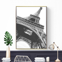 Paris Tower Landscape Nordic Posters And Modern Prints Wall Art Canvas Painting Pictures For Living Room Decoration