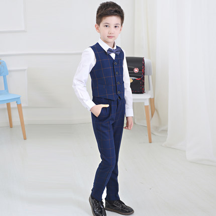 2017 New Fashion Boys Suits For Weddings Kids Prom Suits