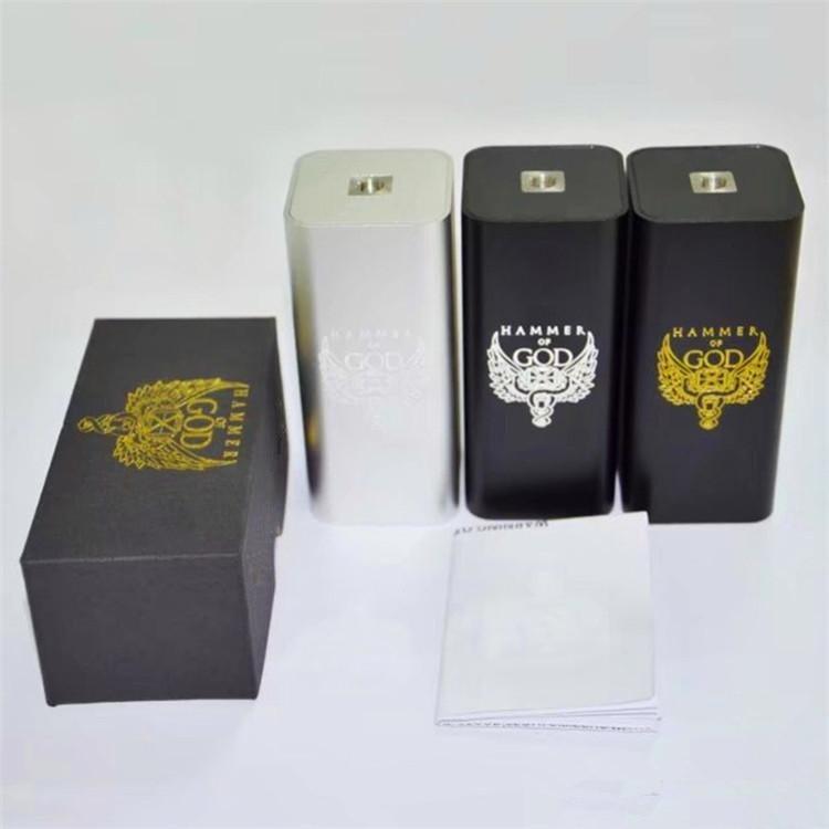 Молот Бога V3 поле Mod электронная сигарета механические Mod fit 18650 Батарея для мех RDA RDTA РБА распылитель Vape испаритель комплект