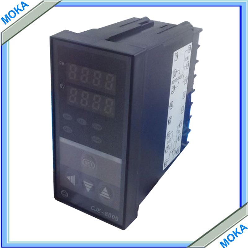 Free Shipping Universal Automatic Digital Temperature Controller Thermostat 220V Control Switch CJE-8000  цены