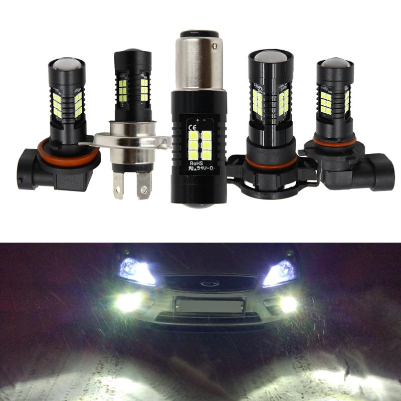 H8 H9 H11 H16 - PRIME AZTEK AUTO H8 H9 H11 H16 LED Headlight Bulb Kit PRIME CREE LED 4000Lm 6000K Pure White Compact Super Bright 12v 24v