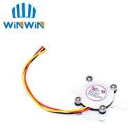 I81 10pcs Water Coffee Flow Sensor Switch Meter Flowmeter Counter 0.3 6L/min inner diameter 2mm