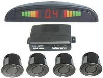 XYCING Auto omkeren parkeerhulp - 4 parkeersensoren + Display - Auto-elektronica - Foto 1
