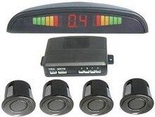 XYCING Car Reversing Parking Aid - 4 Parking Sensors + Display LCD Monitor + Command Module Box