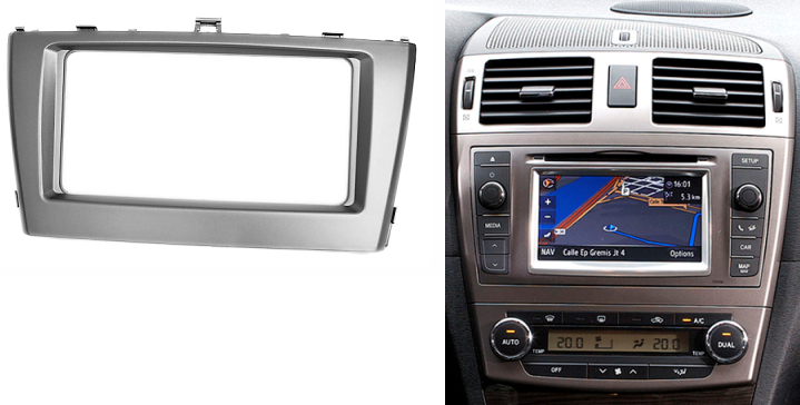 double din stereo panel for toyota avensis 2001 fascia. Black Bedroom Furniture Sets. Home Design Ideas