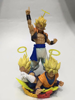 Banpresto Gogeta SSJ Goku Vegeta Com Figuration DRAGON BALL Z figure model toy