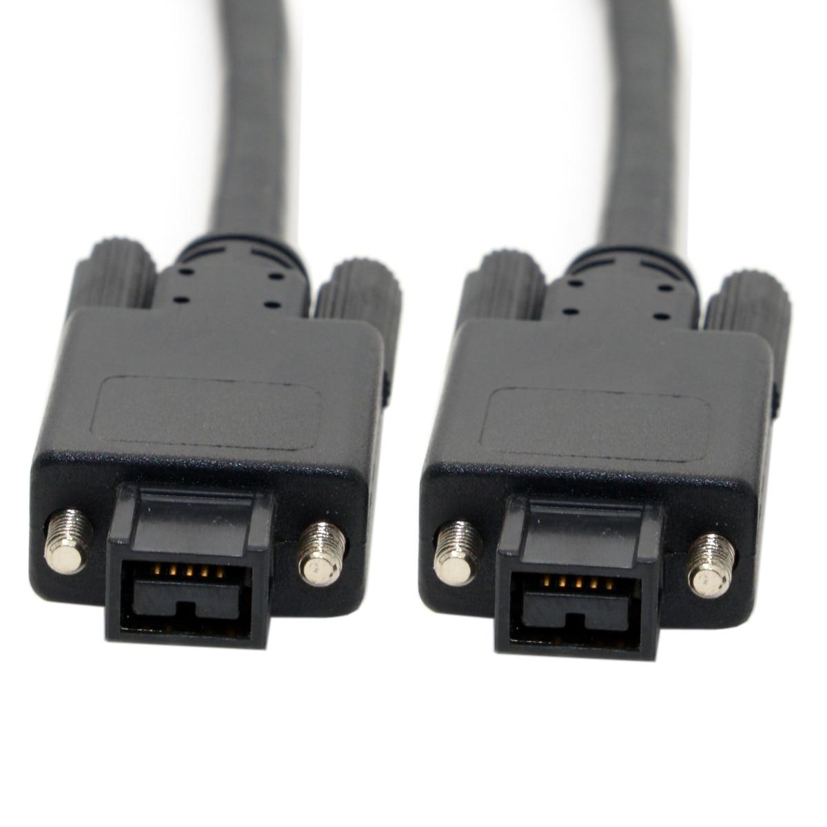ilink Firewire 800 IEEE 1394 9Pin Plug to 9Pin Screw Type Mount ...