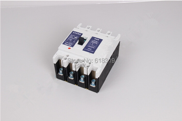 Disjoncteurs à courant continu 2 pièces/ensemble 2 P 125A 550 V pour système PV (solaire)