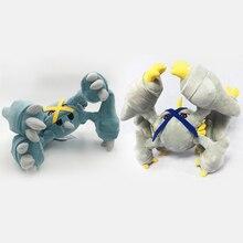 2 pcs/sets  Anime Peluche Toy Metagross Mega Evolution Stuffed Plush Cartoon Dolls Hot Christmas Gift Baby Toys For Children