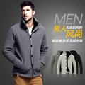 Spring and summer new thick sweater sweater Men 's leisure sweater