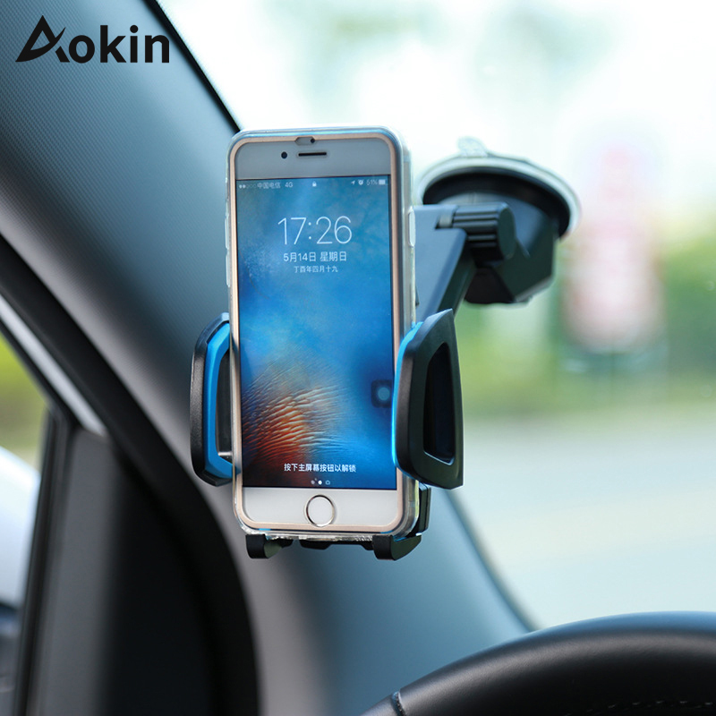 Aokin Mobile Phone Holder Windshield font b Car b font Air Vent Mount 360 Stand for