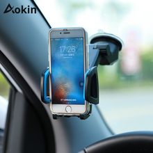 Aokin Mobile Phone Holder Windshield Car Air Vent Mount 360 Stand for iPhone Samsung Galaxy S8 HTC Smart Phone For GPS Holders