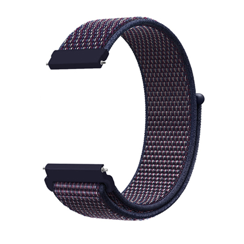 Band For Samsung Galaxy Watch 46mm/Gear S3 Frontier Classic 22mm 20mm Nylon Sport Loop Wrist Strap For Galaxy Watch 42mm/Gear S2