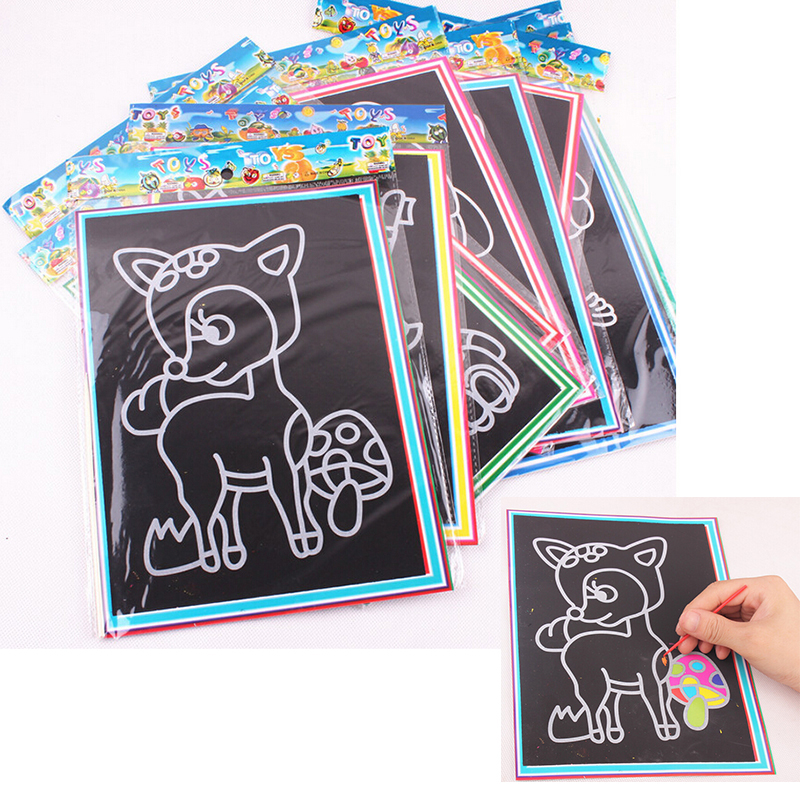 Buy 1pcs colorful scratch sand painting for Buy blueprint paper