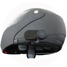 BT Intercome Headset Bluetooth Motorbike Helmet 800m Interphone for Motorcycle and Skiers Black