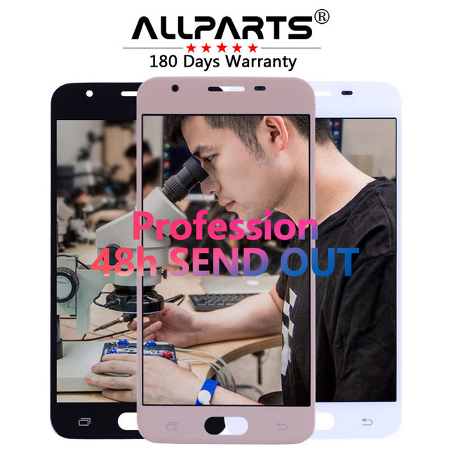 """Tested 5"""" 1920x1080 Super AMOLED Screen for SAMSUNG Galaxy J5 Prime LCD Display G570F G570 SM-G570F with Touch Screen Digitizer"""