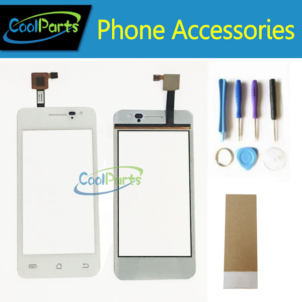 1PC/Lot High Quality For Jiayu G2S JY-G2S Touch Screen Digitizer Touch Lens Replacement Part With Tool&Tape White Color