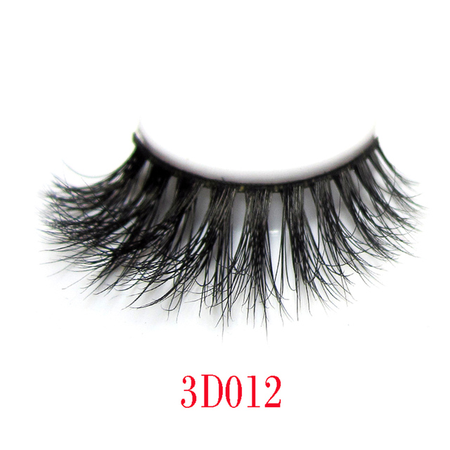 Arison Lashes 3D Mink Fur False Eyelashes For Makeup 100% Hand-made Mink Fur Strip Lashes 1 Pair Package Wholesale In Stock