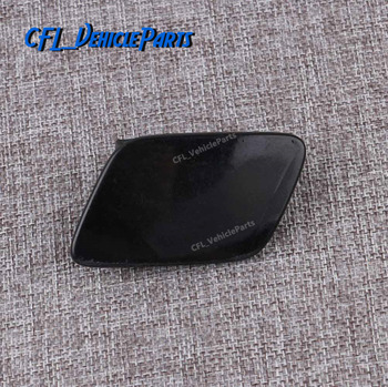 Front Bumper Left Headlight Washer Nozzle Jet Cover Unpainted 3C0955109A For VW Passat B6 2006 2007 2008 2009 2010 2011 image