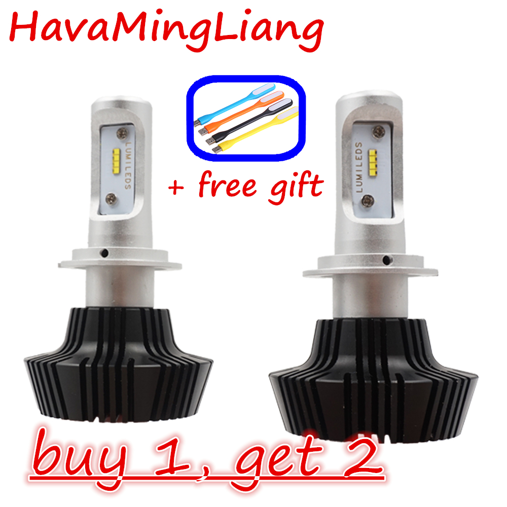 H7 Led Car lights H4 H1 H11 9005 9004 80W 8000LM High Low Beam Automobiles Lamp Cool white 6000K Bulb Running lights for cars cree h4 led headlight h1 h7 h11 h13 9004 9005 automobile pure white car head light high low beam 6000k lamp with fan icarmo