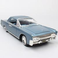1:18 масштаб Большой классический винтажный люкс 1963 Chrysler турбинный автомобиль концепция Diecasts & автомобили модели игрушек подарки для детей