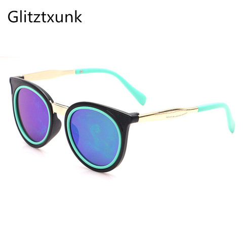 Glitztxunk 2018 Cat Eye Children Sunglasses Sports for Girls Boys Kids Outdoor Sunglasses  Anti-uv Removable Babys Sunglasses Pakistan