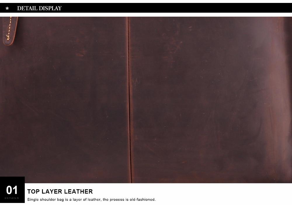 HTB1kDzdBfiSBuNkSnhJq6zDcpXaw JOYIR 2019 Vintage Men's Genuine Leather Briefcase Crazy Horse Genuine Leather Messenger Male Laptop Bag Men Business Travel Bag