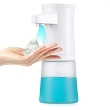 Advanced Foaming Soap Dispenser Automatic ABS Kitchen Dispenser Translucent Hand Wash Liquid Shampoo Foam Pump Infrared Sens