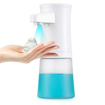 Advanced Foaming Soap Dispenser Automatic ABS Kitchen Dispenser Translucent Hand Wash Liquid Shampoo Foam Pump Infrared Sens