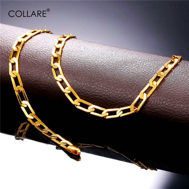 Collare Jewelry Sets For Men GoldRose GoldSilver Color Wholesale