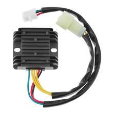 VODOOL 1pc 12V Motorcycle Voltage Rectifier Regulator for Honda ATV 300 TRX300 2×4 4×4 Car Styling Accessories