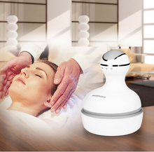 New Electric Head Massager Hand Held Shiastu Massagers Manual 4 Heads Scalp massager Device For Head Mssage Relaxation