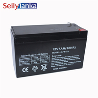 12V 7.0AH Battery Sealed Storage Batteries Lead Acid Rechargeable for Emergency light monitor Children's car