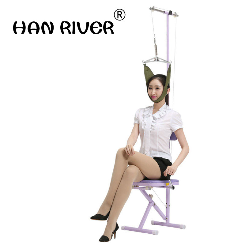 Home traction traction chair with towing cervical tractor traction bed Spine Support Belt Corretor De Postura