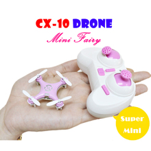 Cheerson CX-10 Mini Drone LED Light 360 Eversion 6-Axis GYRO Quadcopter Drones RC Helicopter Quadrocopter Drone Cheerson CX 10