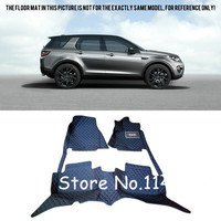 For Land Rover Discovery Sport 2015 2016 2017 2018 (7 seater) Car styling Interior Black Floor Mats Pads Liner Tray