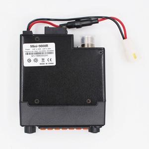 Image 5 - Mini 9800R 25W מיני נייד רדיו עם 136/240/400MHz tri להקות להחליף QYT KT 8900R BAOJIE BJ 218 UHF VHF רכב רדיו