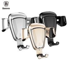 Baseus марка gravity air vent автомобильный держатель мобильного телефона стенд сильные упругие кронштейн для iphone универсальный 4-6 дюймов мобильного телефона