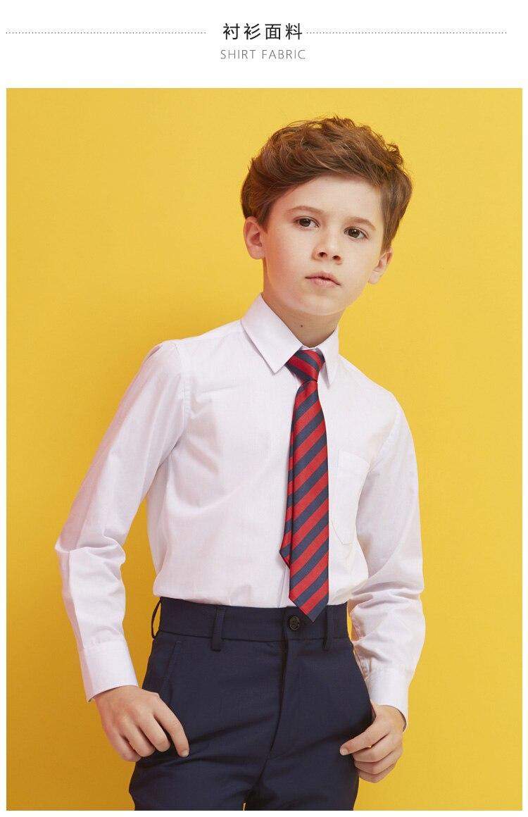 Inglaterra Meninos Xadrez Blazer 3 pcs Ternos