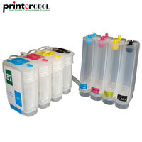 Empty CISS 10 82 for HP 500/500ps/800/815mfp printer ciss for HP 4844 /4911/4912/4913 Continuous Ink Supply System
