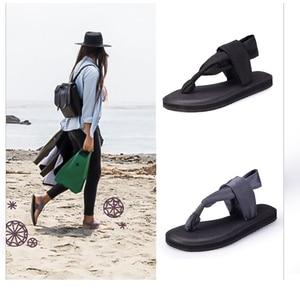 Image 5 - Сандалии женские на плоской подошве, босоножки ручной работы для йоги, модные шлепанцы, большие размеры, летняя обувь