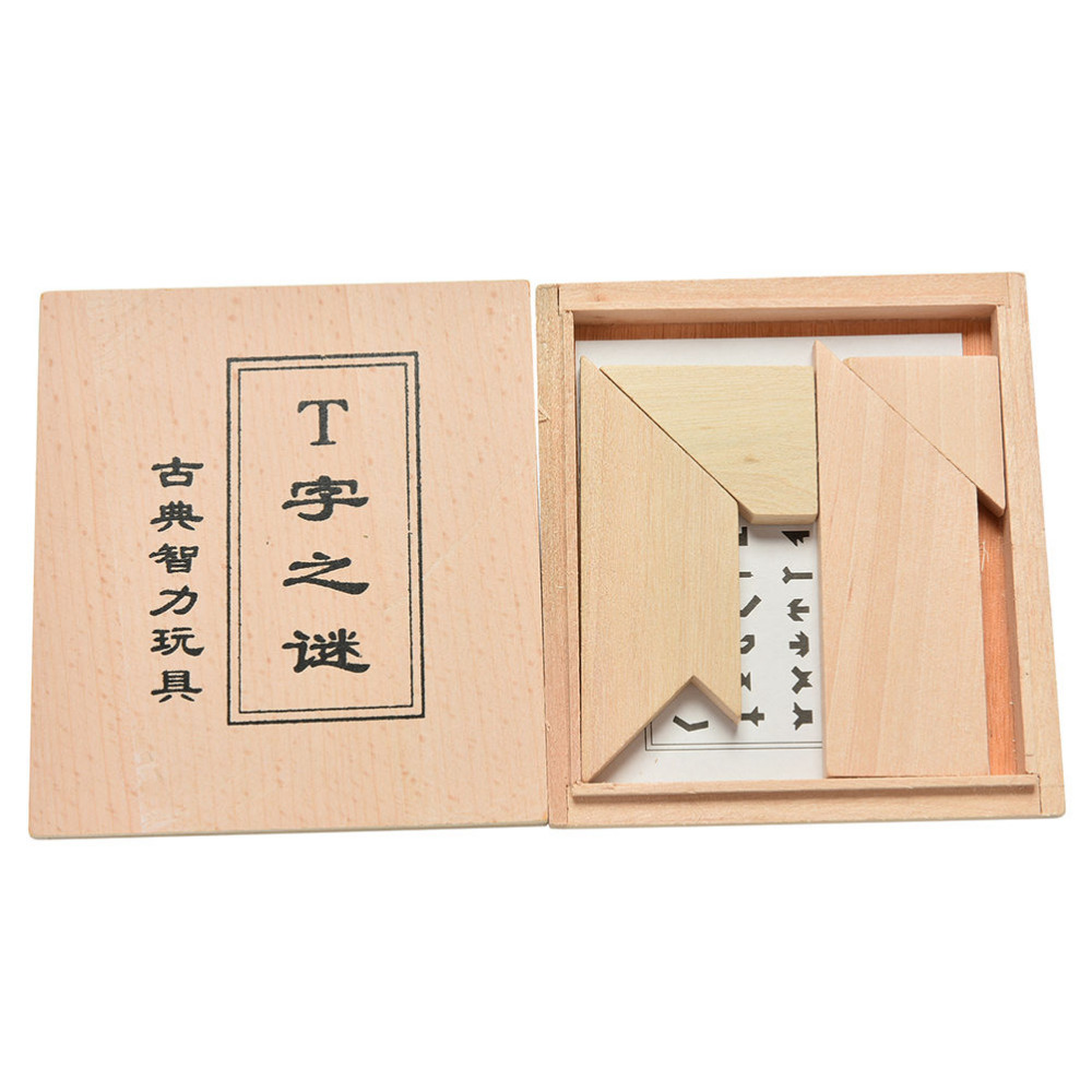 1PCS Wooden Puzzle Toys Baby Children Educational Toys