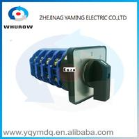 LW26 125 4 High Quality Dc Voltage Automatic Electrical Changeover Rotary Cam Switch Four Poles 125A